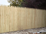 Closed Castle Style  Fence Panel